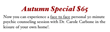 Autumn Special $65
